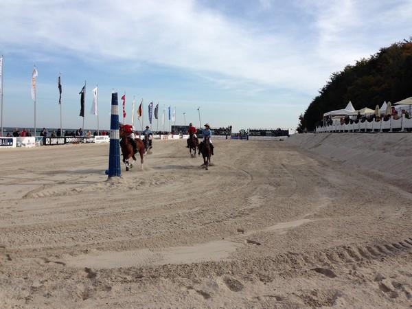 Sportturnier am Strand von Sellin 2013