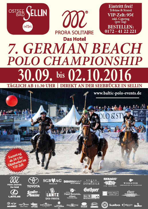 Beach Polo 2016 in Sellin