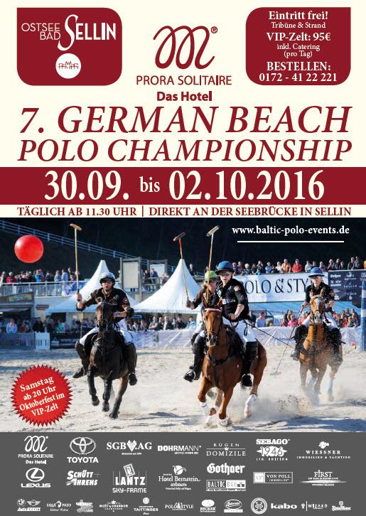 Beach Polo 2016 in Sellin