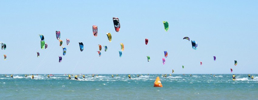 kitesurfing rügen