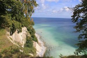Kreideküste auf der Halbinsel Jasmund