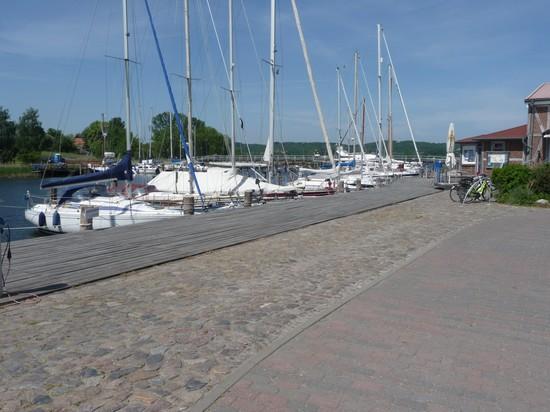 Hafen von Seedorf auf Rügen