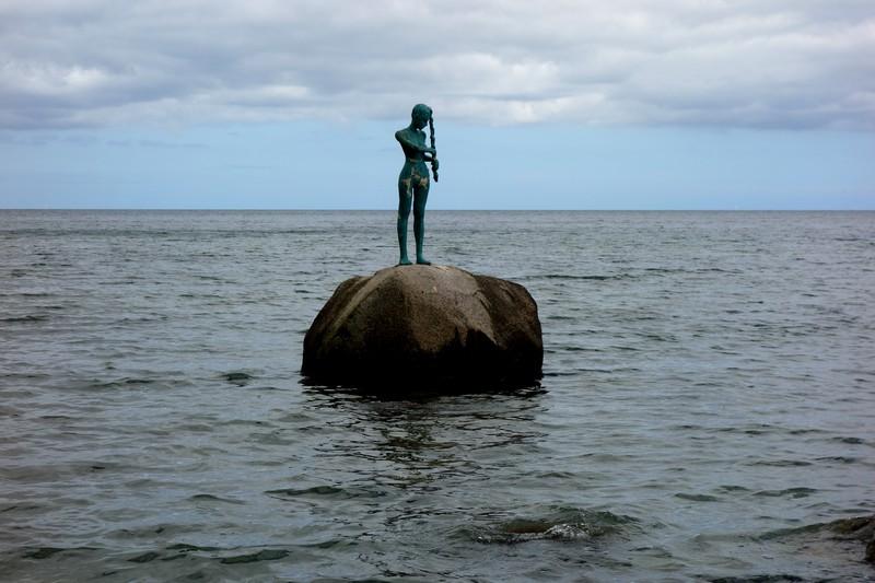 Skulptur Kaysa am Selliner Strand