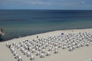 Schöner Strand in Sellin