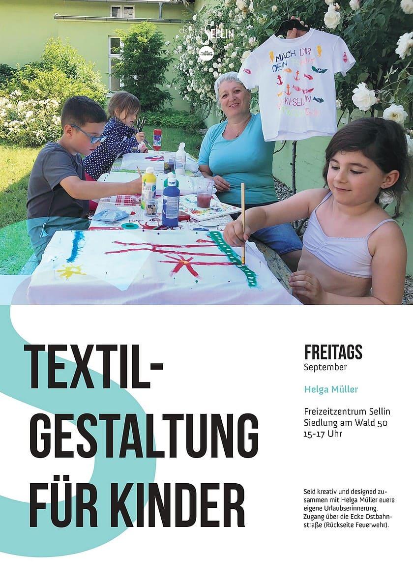 Textilgestaltung fuer Kinder