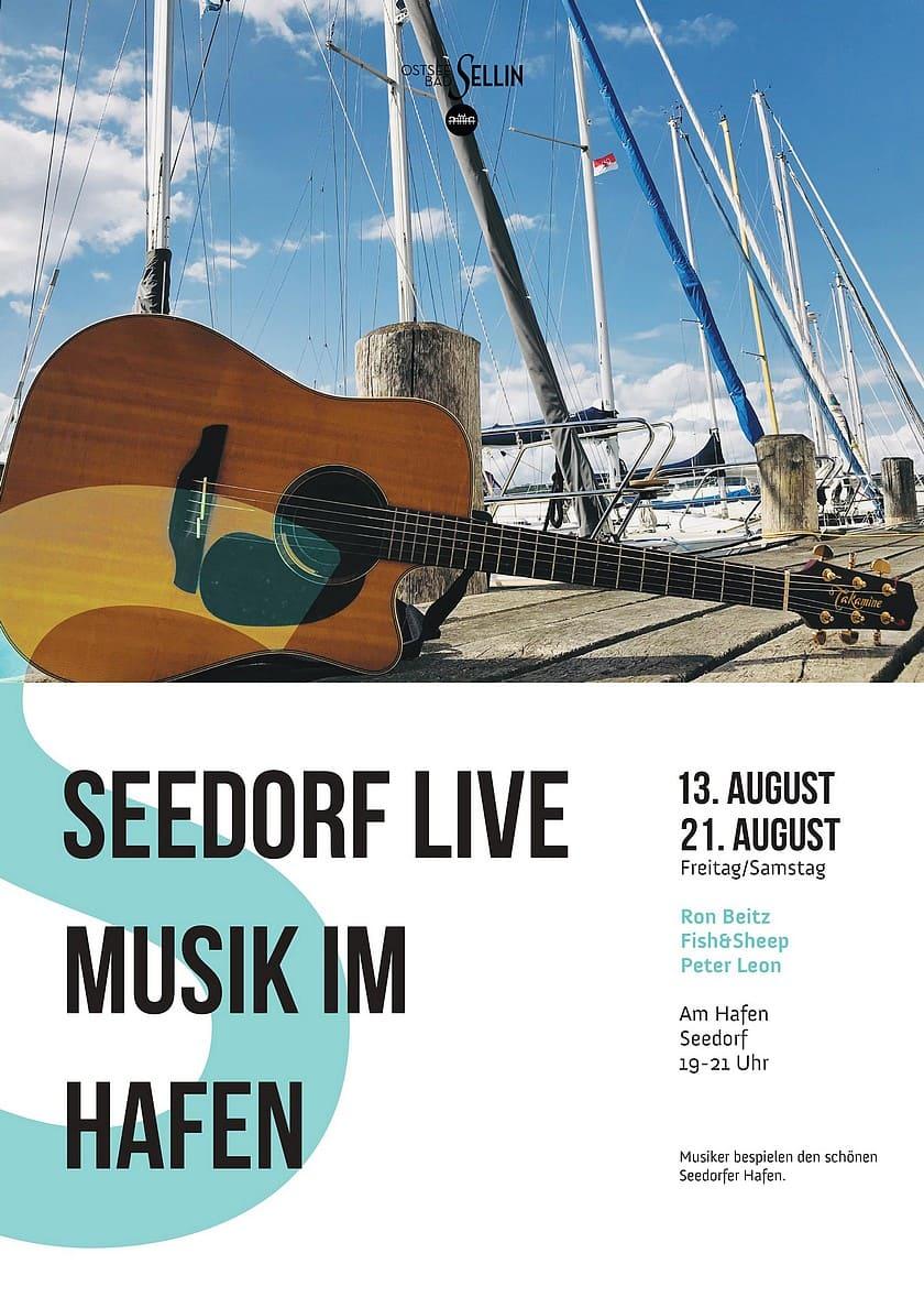 Seedorf Live Musik im Hafen