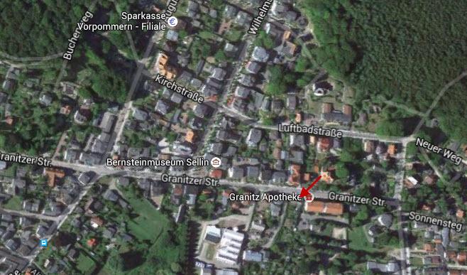 Kostenloser Parkplatz in Sellin