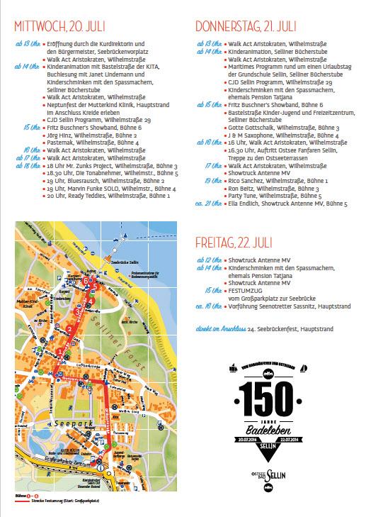 Programm150 Jahre Badeleben Sellin