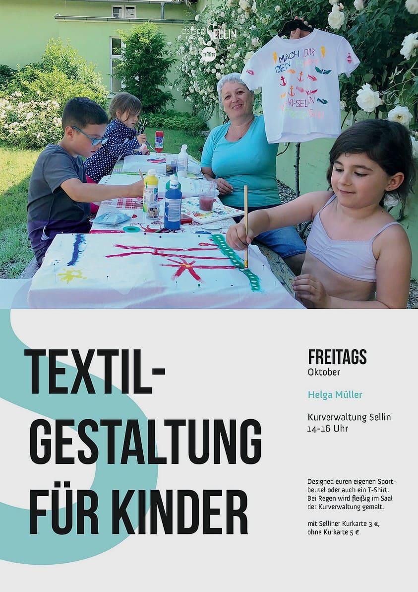 Textilgestaltung für Kinder