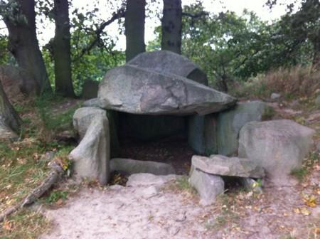 Auflug von Sellin aus - Großsteingräber in Lancken Granitz