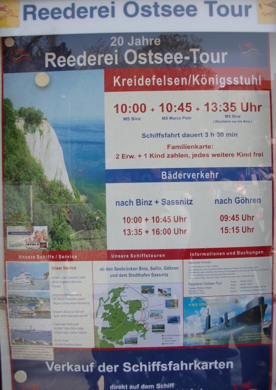Bootsausflüge Sellin - Reederei Ostsee Tour