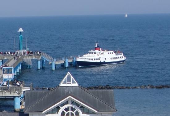 Bootsausflug nach Sellin - hier mit dem Dampfer Binz