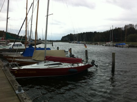 Gemeinde Sellin - Foto des Hafens in Seedorf