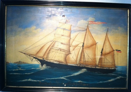 Museum Seefahrerhaus in Sellin - Exponat Ölbild