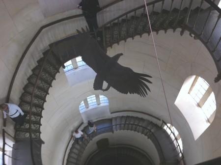 Turmaufstieg und Treppe im Jagdschloss Granitz