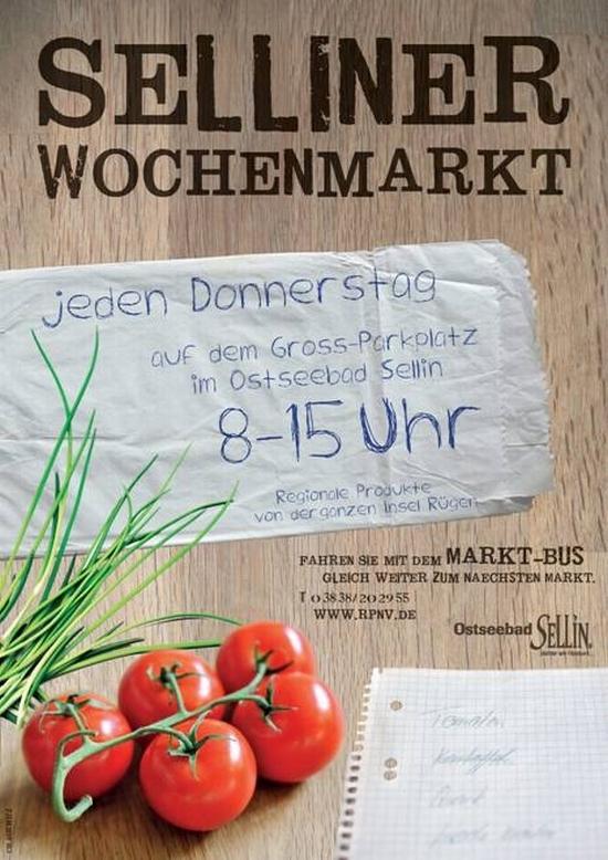 Selliner Wochenmarkt