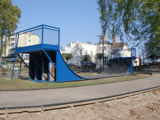 Spielplatz Sellin - Halfpipe