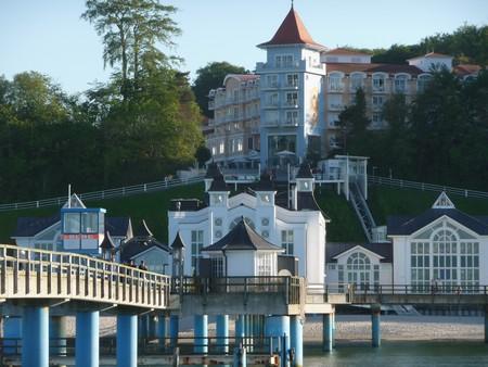 Seebrücke und Travelcharme-Sellin