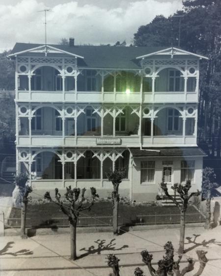 Villa Meeresgruß Wilhelmstraße Sellin historisch