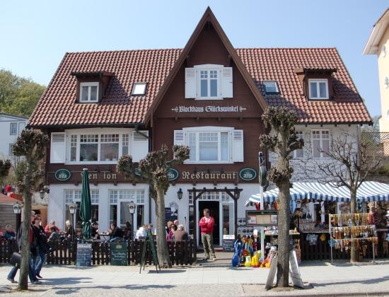 Wilhelmstraße Sellin - Blockhaus Glückswinkel
