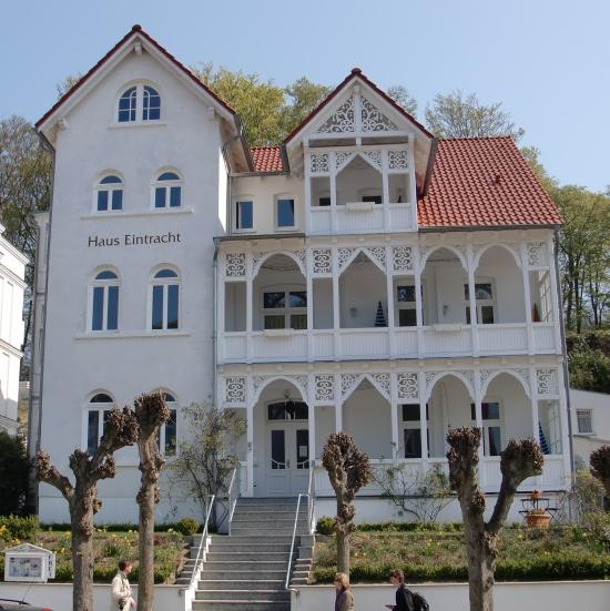 Wilhelmstraße Sellin - Haus Eintracht