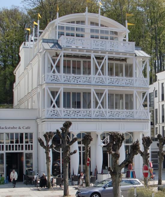 Wilhelmstraße Sellin - Villa Johanna
