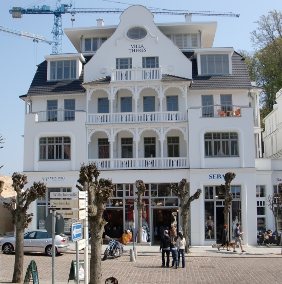 Wilhelmstraße Sellin - Villa Theres