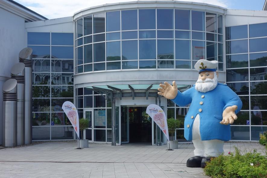 Ahoi Rügen Eingangsbereich