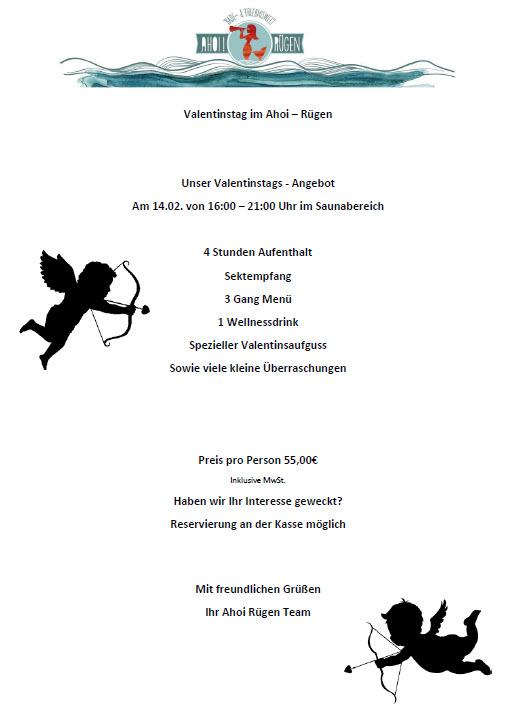 Valentinstag 2016 Ahoi Rügen