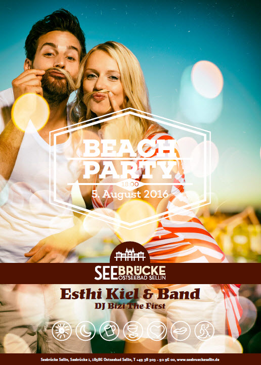 Beachparty Sellin 05.08.2016