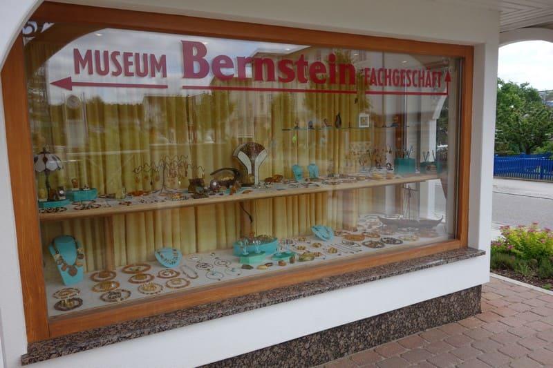 Bersteinmuseum Sellin  Schaufenster