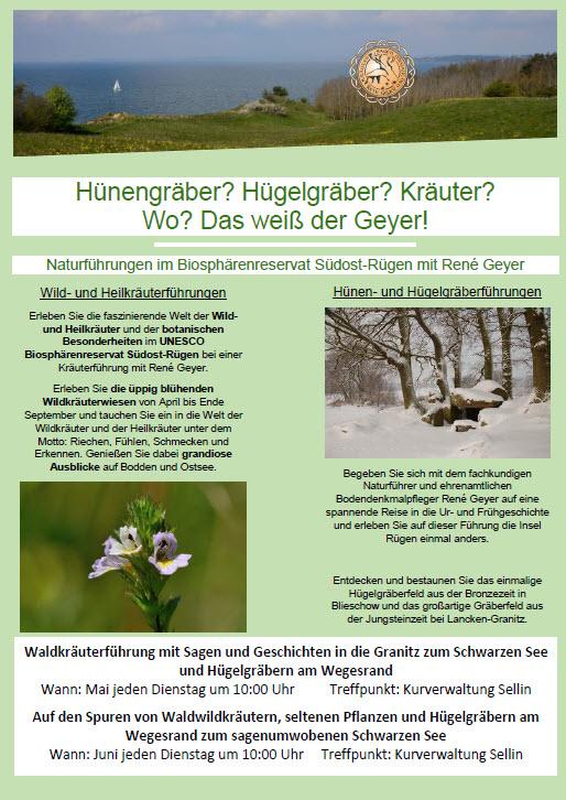 Kräuterwanderungen mit René Geyer