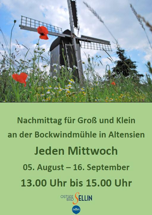 Bockwindmühle Altensien