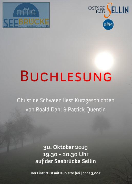 Buchlesung Oktober 2019