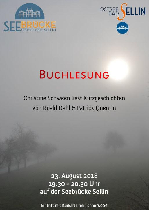 Buchlesung Schween August 2018