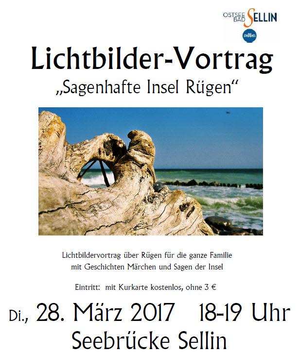 Dia-Vortrag : Sagenhafte Insel Rügen