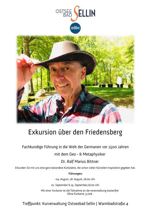 Exkursion Friedensberg Sellin August 2019