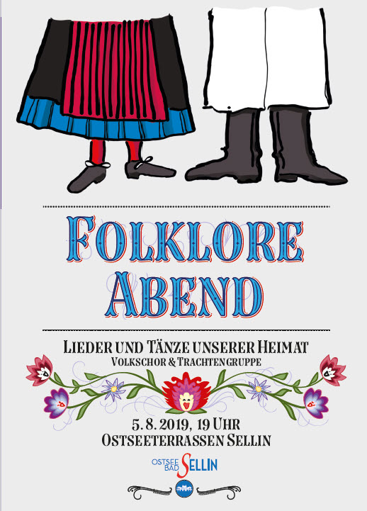 Folkloreabend August 2019