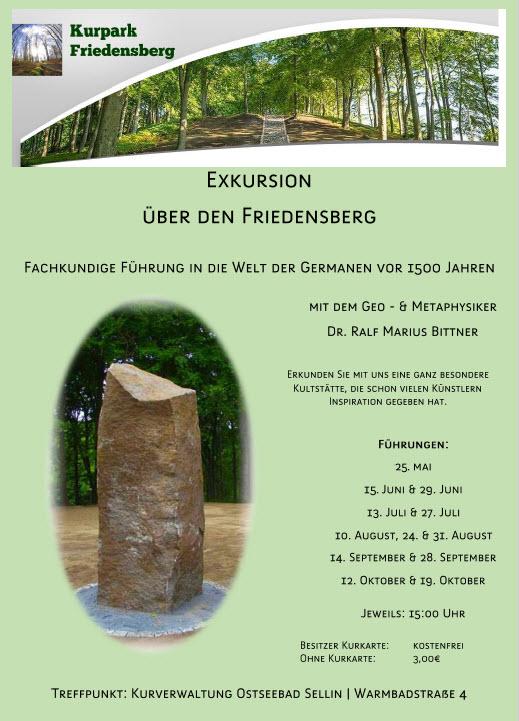 Kurpark Friedensberg  Mai bis August 2018