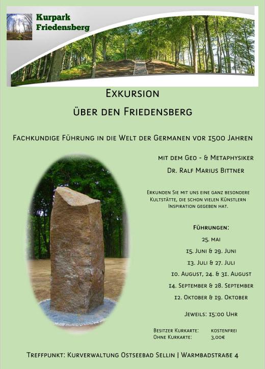 Exkursion über den Friedensberg Sellin