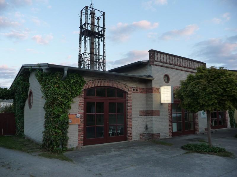Gesamtansicht des Gebäudes Galerie Hartwich