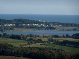Gemeinde Sellin - Blick vom Schlossturm Granitz auf Sellin