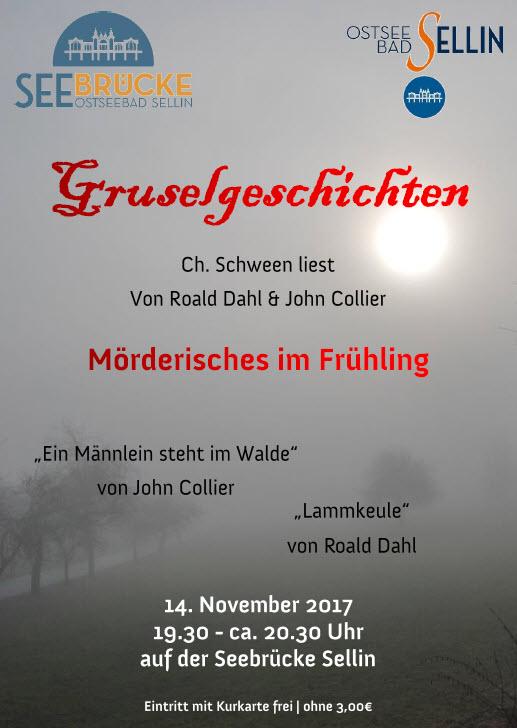 Gruselgeschichten Schween November 2017