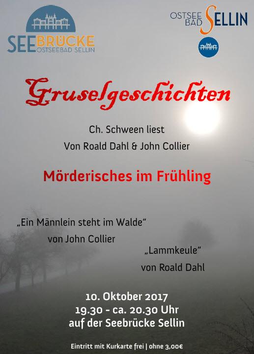 Gruselgeschichten Schween Oktober 2017