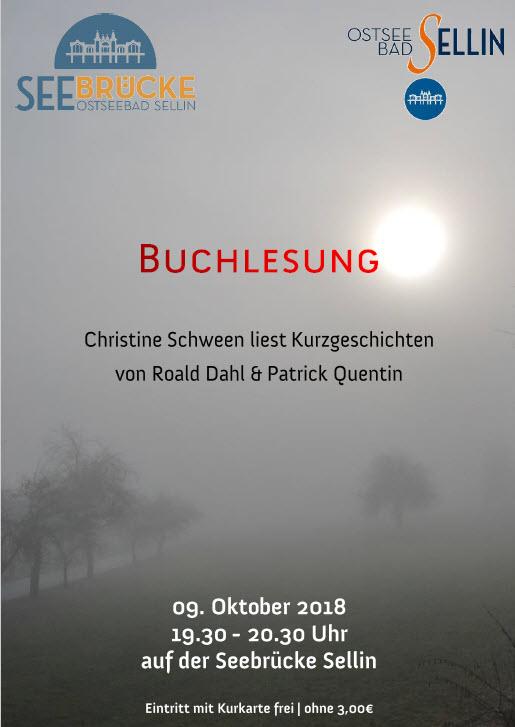 Buchlesung Schween Oktober 2018