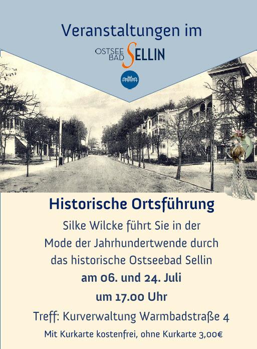 Historische Ortsführung Juli 2020