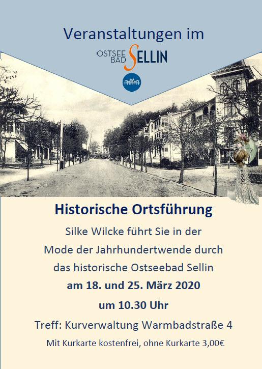 Historische Ortsführung Sellin März 2020