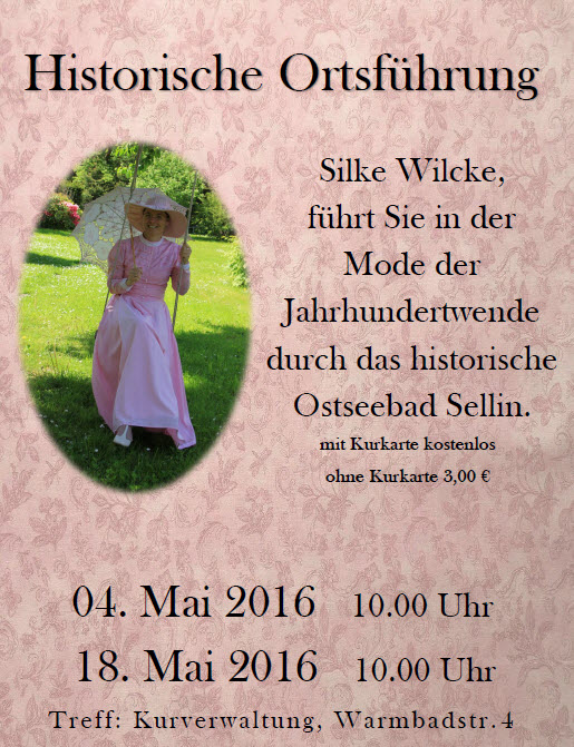 Historische Ortsführung Sellin Mai 2016