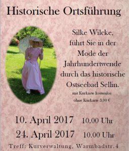 Historische Ortsführung April 2017