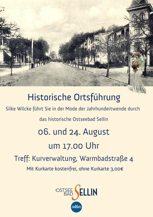 Historische Ortsführung August 2020